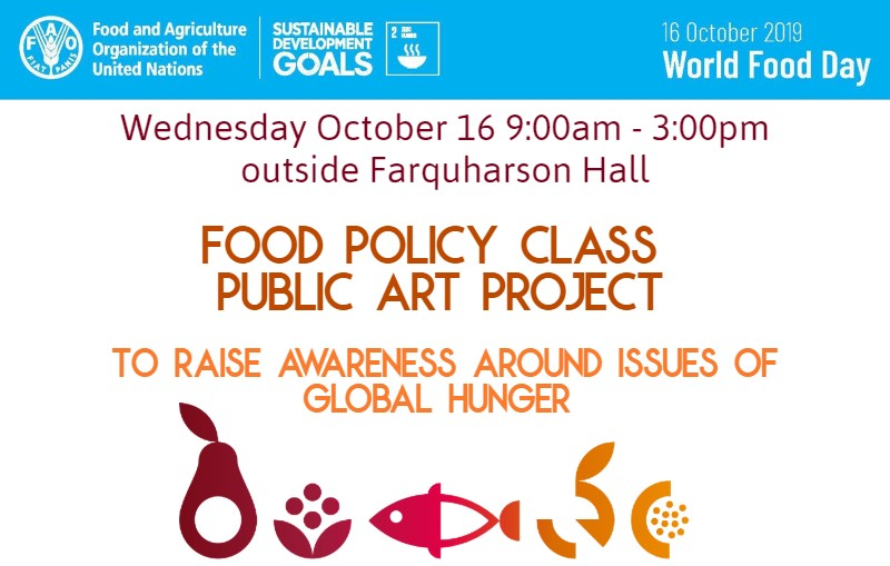 World Food Day Policy Class project