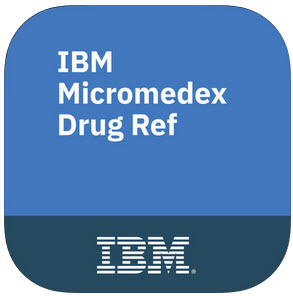 IBM Micromedex Drug Reference