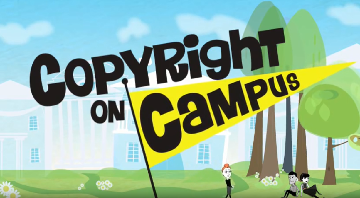 Copyright on Campus video