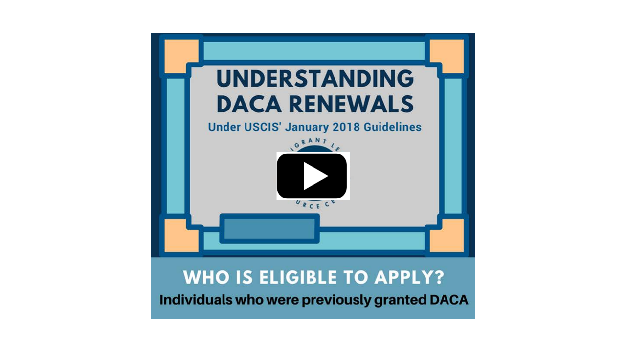 Understanding DACA Renewals in English