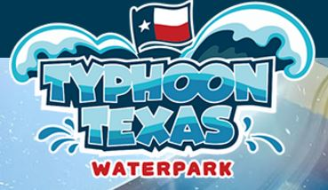 Logo for Typhoon Texas Waterpark