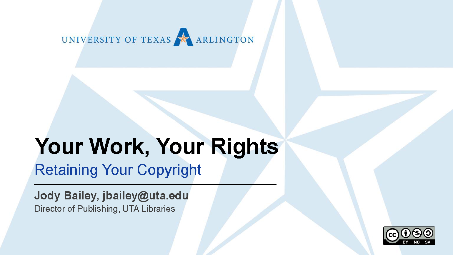 Author rights presentation title slide