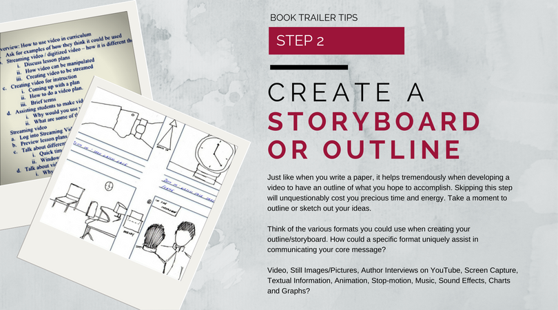 Create a Storyboard or Outline