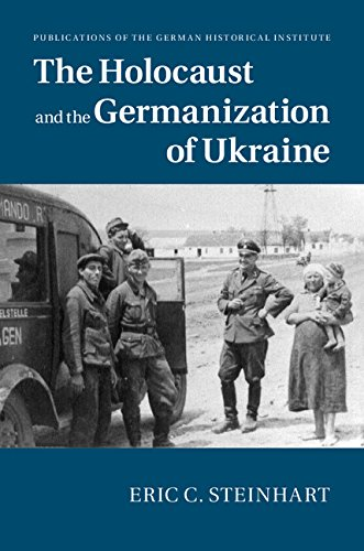 Cover of The Holocaust and the Germanization of Ukraine