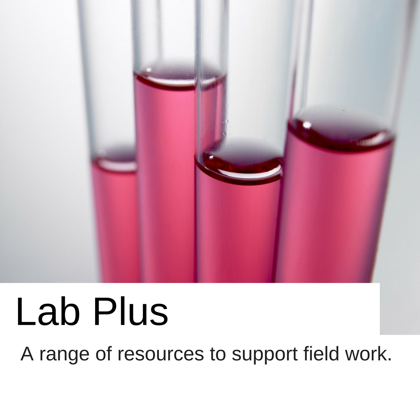 Lap Plus a range of resources to support field work.