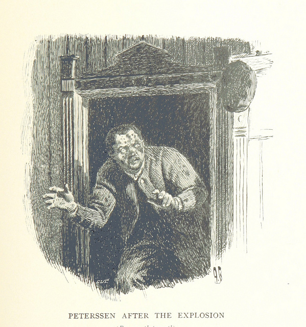 Zombie image from the British Library