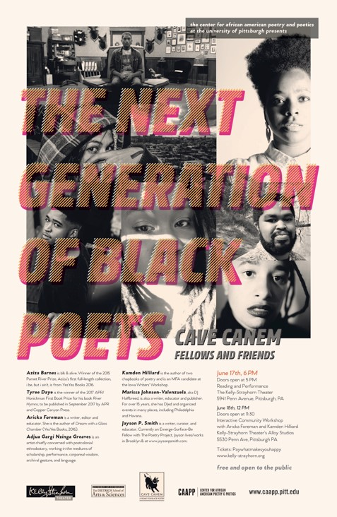 next generation of black poets poster