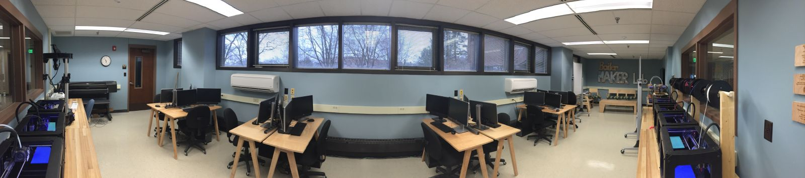 Image of the BoilerMAKER Lab in Knoy 155