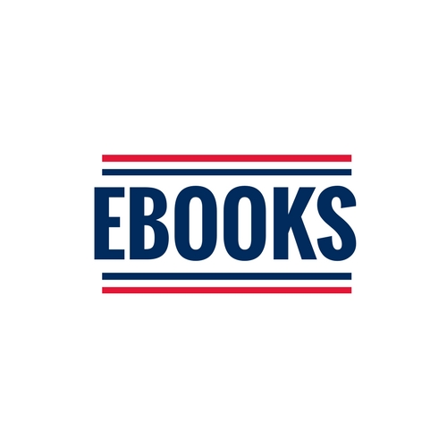 ebooks graphic that is red, white and blue