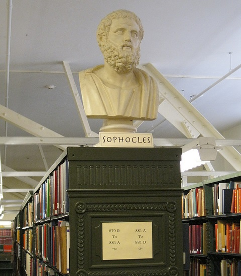 Classics Library Collection at the Literatures and Languages Library's picture