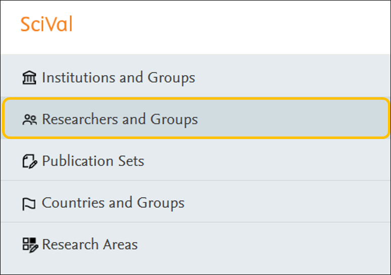 Find ECU Heirarchy in Researchers and Groups