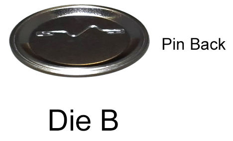 Die B setup, place the pin back in die B