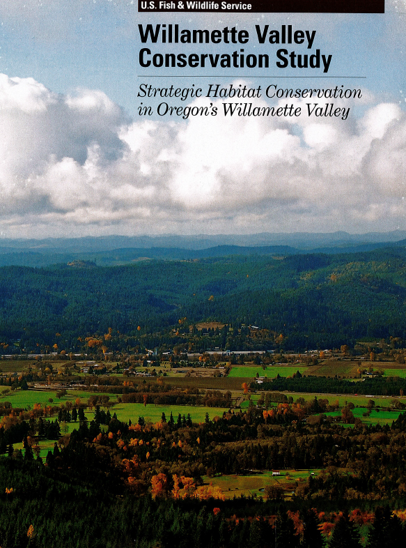 Book cover: Willamette Valley Conservation Study