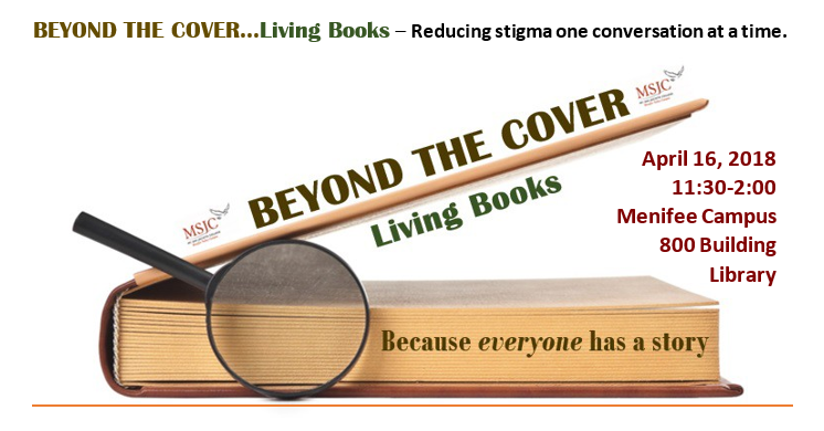 Living Books Event Announcement 2018