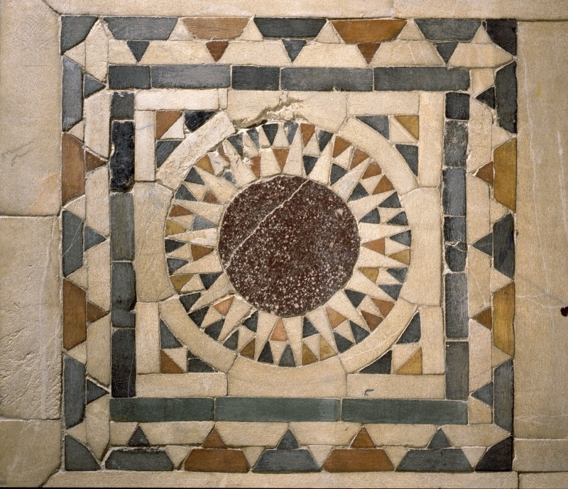 Egyptian stonework for decorating floors and walls