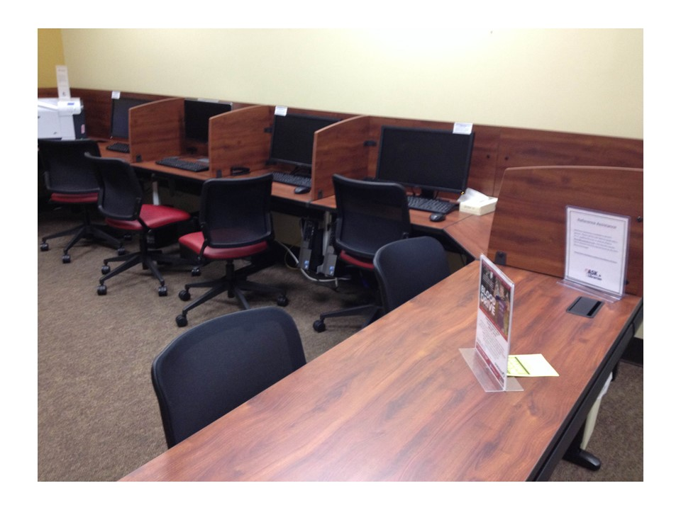 Computers at the Baxley Learning Resource Center