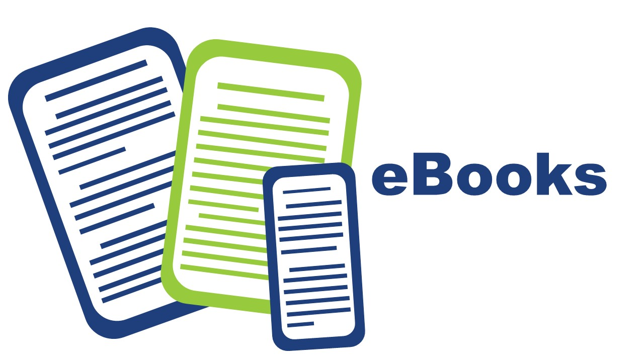 Image illustration of ebooks and smartphones