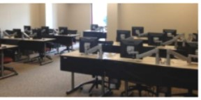 Image photo of computer lab in Waycross library