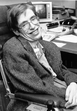picture of Stephen Hawking