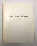 photograph of book, Three Love Stories