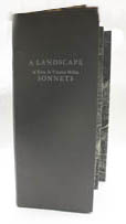 photograph of book, A Landscape of Edna St. Vincent Millay Sonnets