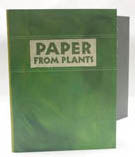 photograph of book, Paper from Plants