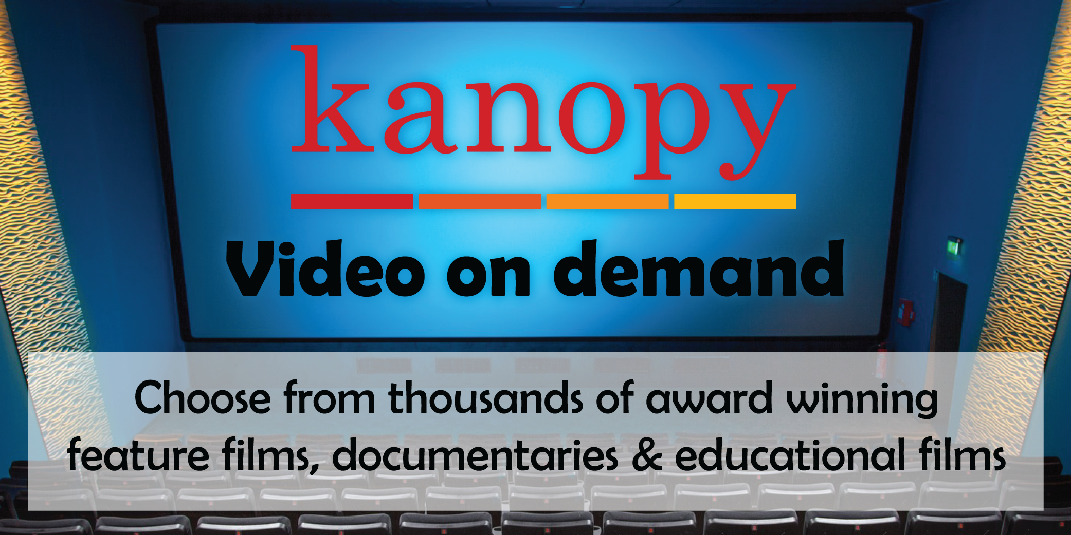 Kanopy videos on demand database