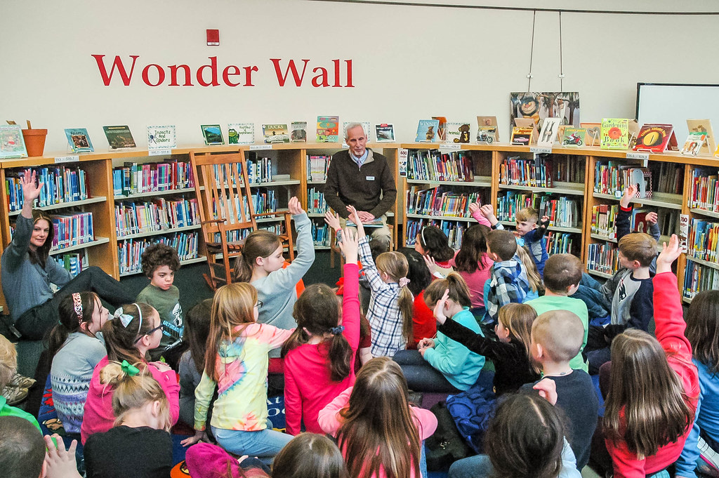 Needleman Visits Colchester for World Read Aloud Day