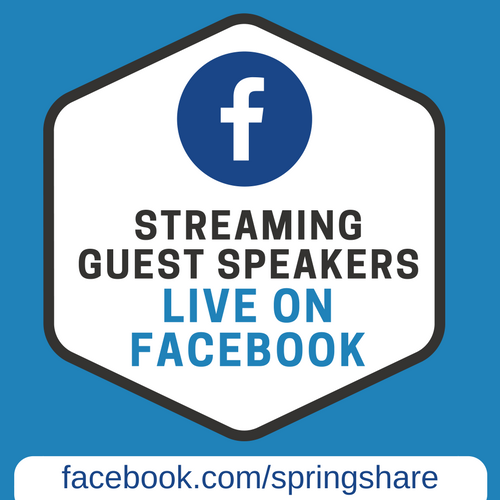 Streaming Facebook presentations live
