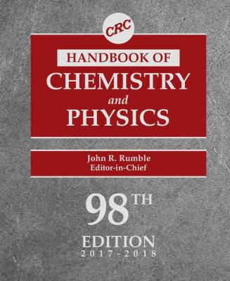 Cover of the CRC Handbook of Chemistry and Physics