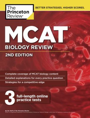 Cover of Princeton Review, MCAT Biology Review
