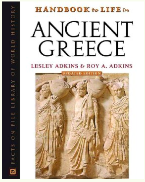 handbook to life in ancient greece book cover