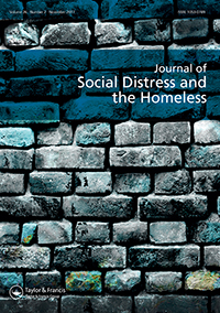 Journal cover for Journal of Social Distress and the Homeless