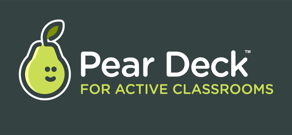 link to Pear Deck presentations