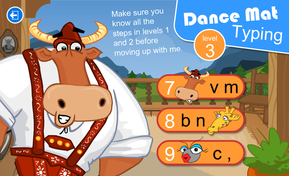 DANCE MAT TYPING 3