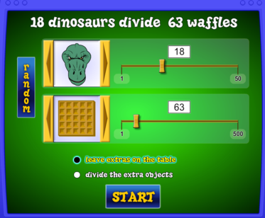 math game screenshot