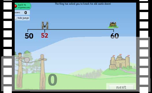 Count On Catapult math game