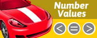number values racing game