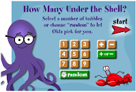 How Many Under the Shell? math game
