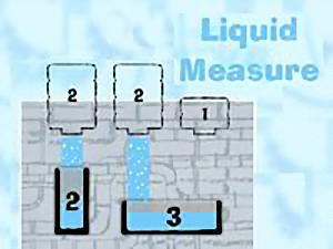 liquid measure math game