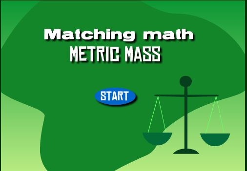MAtching Math Metric Mass game logo
