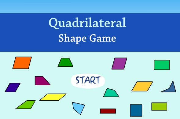 Quadrilateral Shape game logo