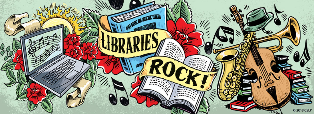 libraries rock summer reading