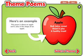 theme poem interactive