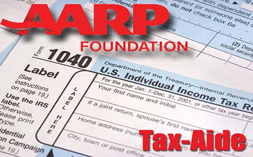 AARP tax assistance
