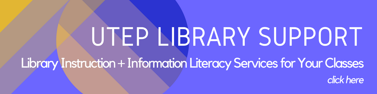 click here to request an information literacy session for your classes