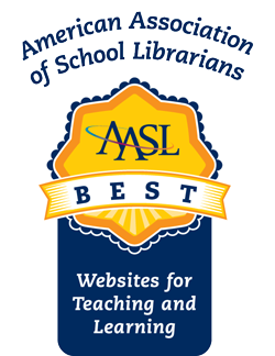Logo for AASL Best Website winners