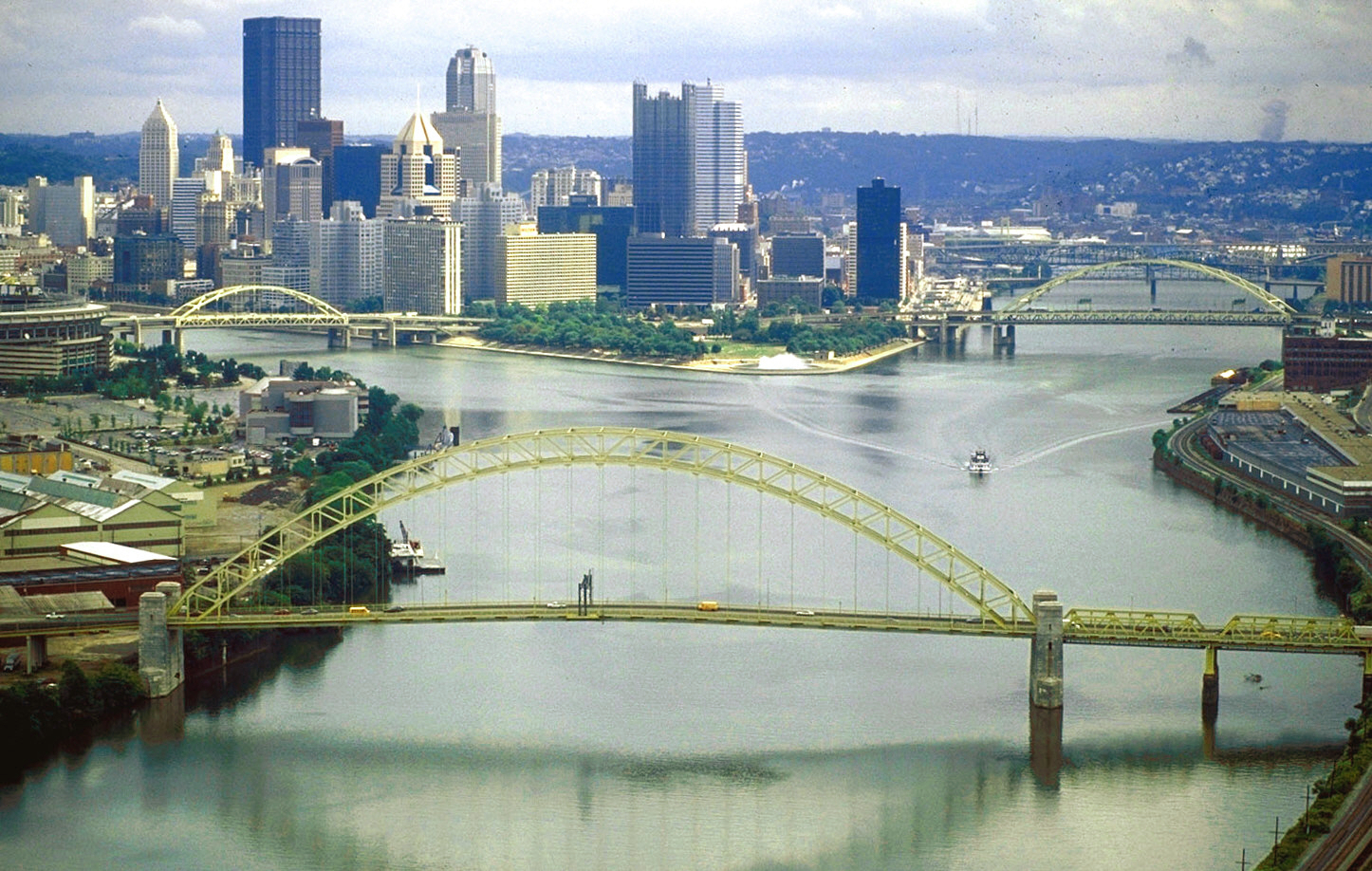 Photograph of the city of Pittsburgh