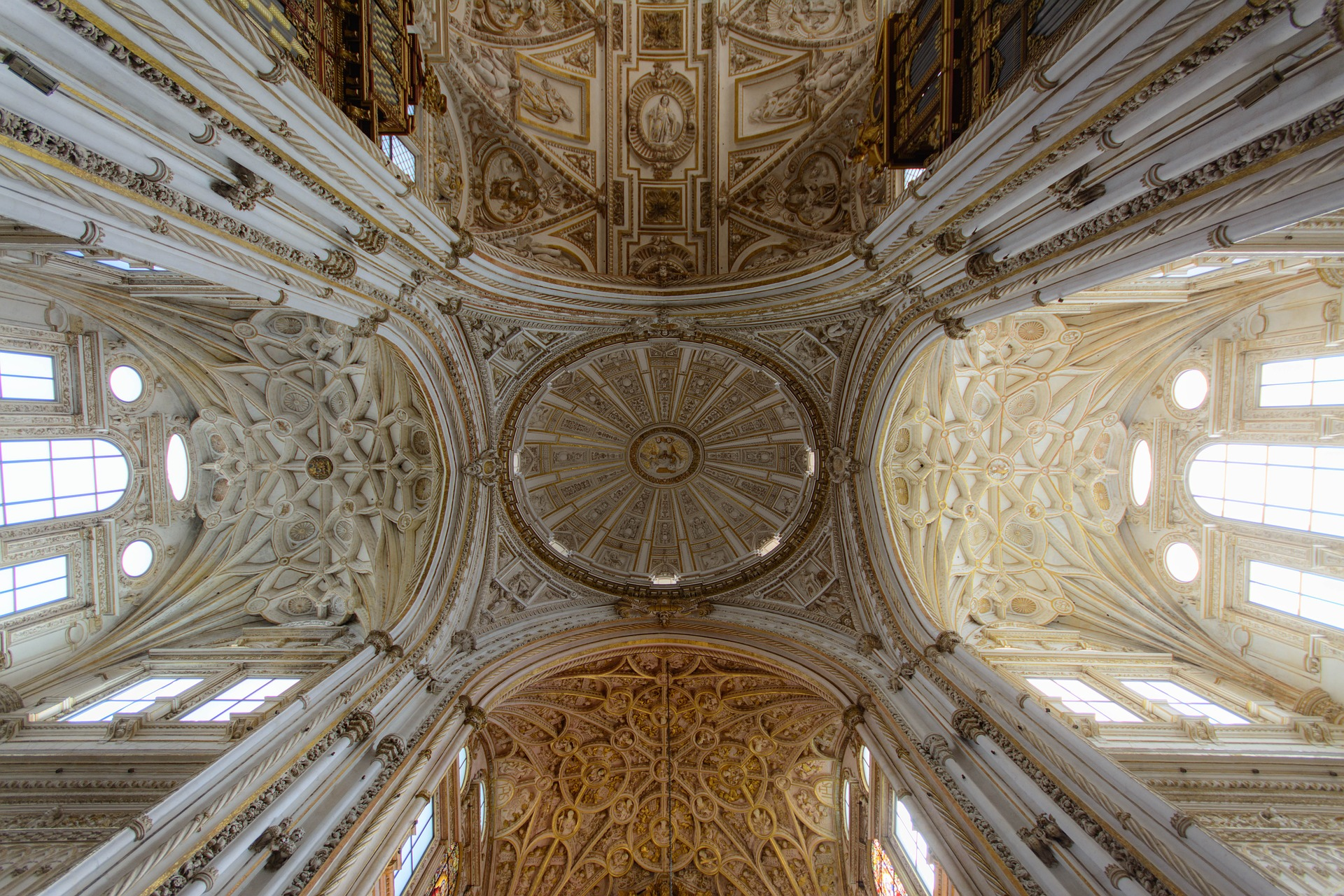 Vault of a cathedral