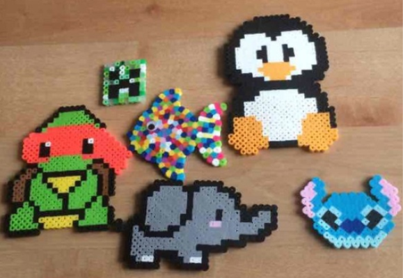 perler bead creation